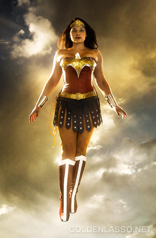 Kimi as Wonder Woman