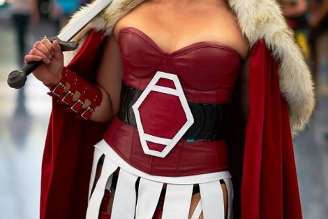 Golden Lasso Cosplay Lady Sif