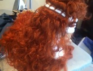 Do-It-Yourself: Merida Wig (from Brave)