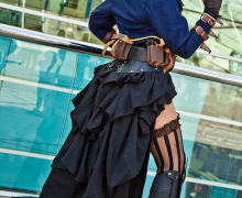 Do-It-Yourself: Steampunk Bustle Skirt