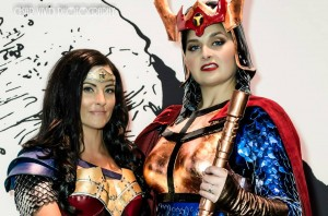 Big Barda and Wonder Woman