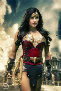 Rainfall Wonder Woman